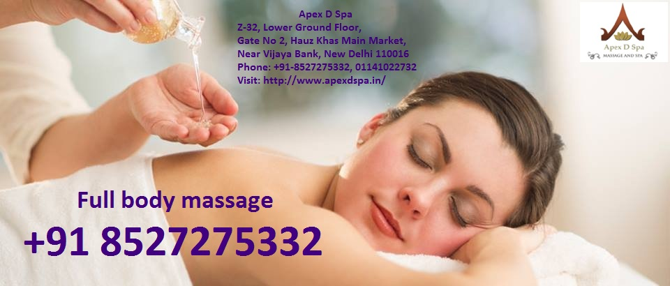 Female to male body massage in Delhi