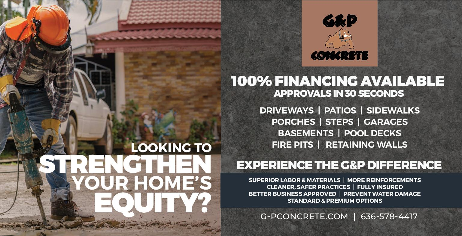 G & P Concrete - Get your patio for Fall