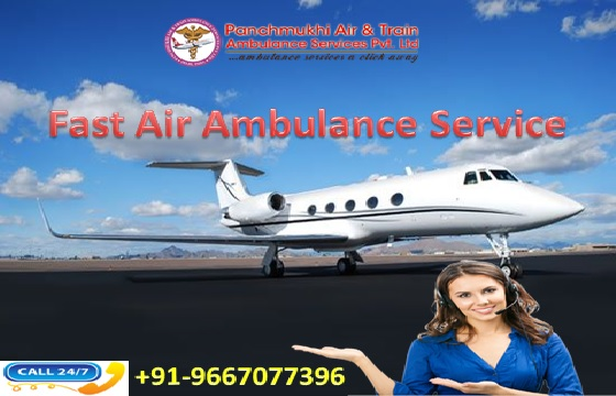 Take Superior and Fast Air Ambulance Service in Jabalpur with Doctor
