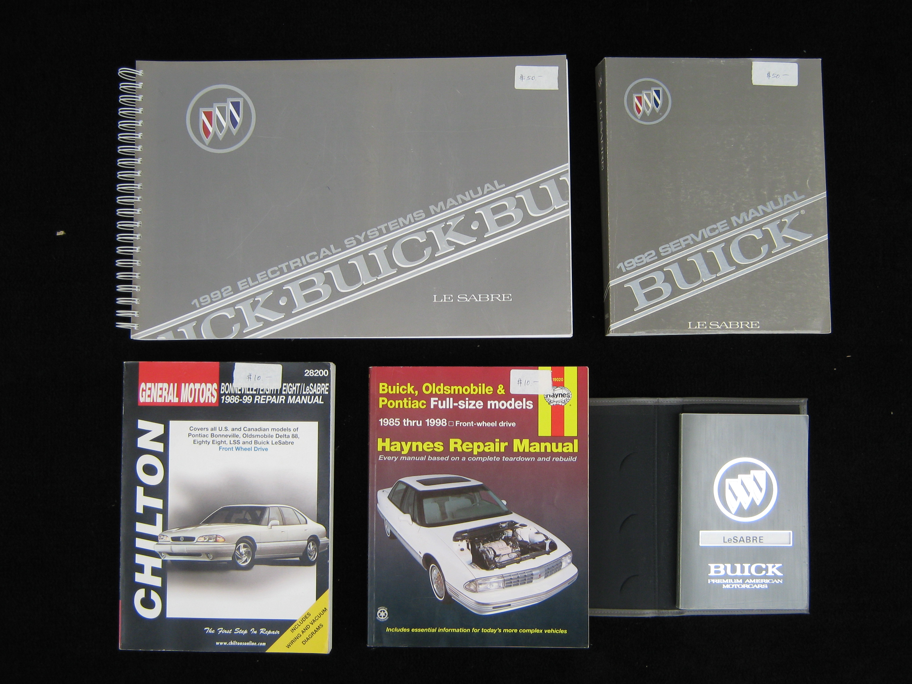 1992 Buick Le Sabre Manuals