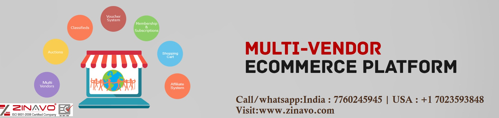 Multi-Vendor Ecommerce Website Design and Development Company