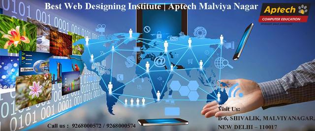 Aptech Malviya Nagar Offering Web Designing Training in Delhi
