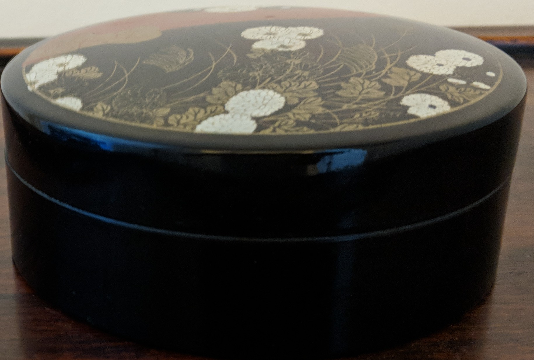 Vintage Yamanaka Trinket Box Made In Japan