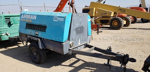 2007 AIRMAN PDS185S AIR COMPRESSOR