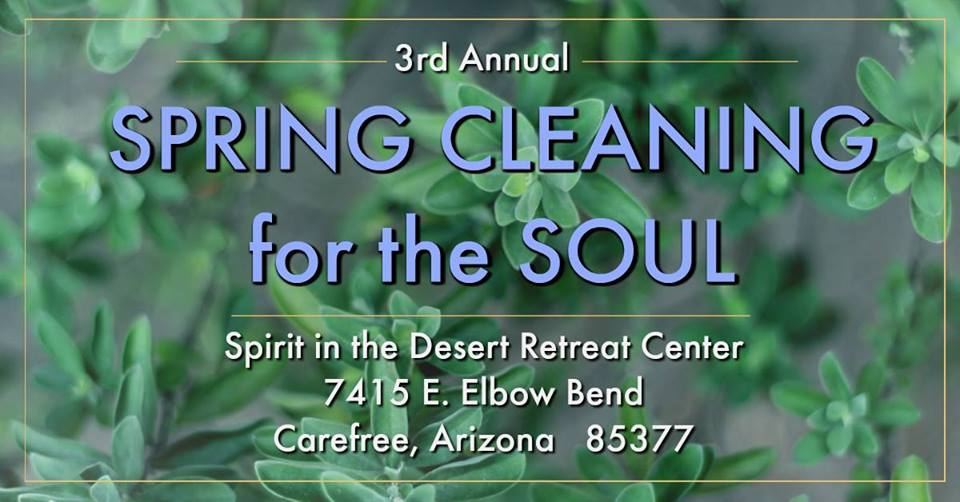Spring Cleaning for the Soul Retreat 2019