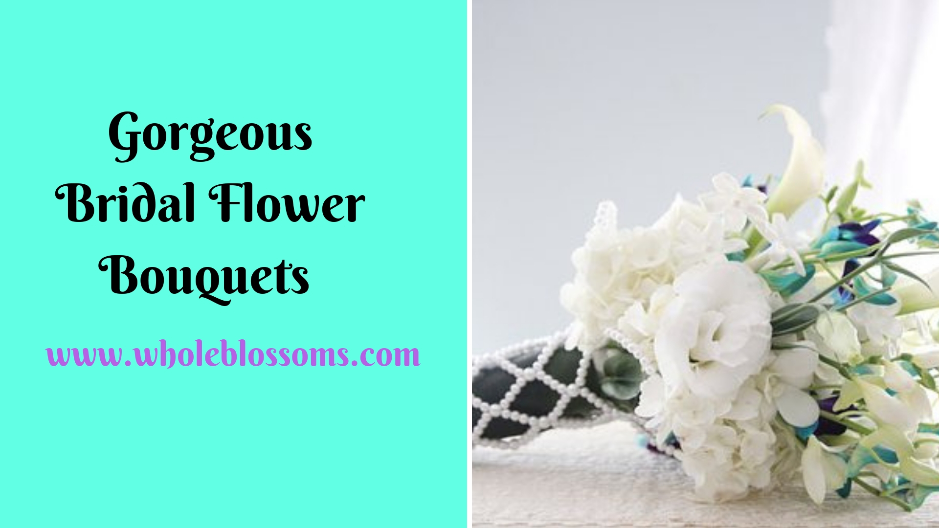 Buy Scenic Bridal Flowers and Bouquets from Whole Blossoms