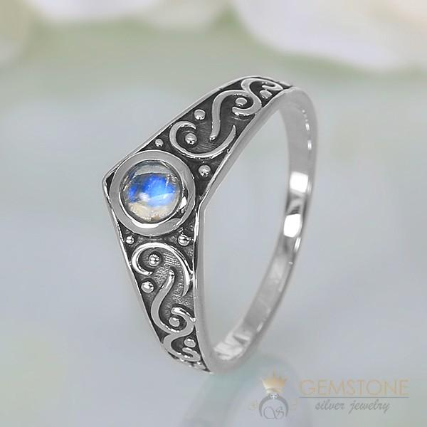 Moonstone Ring Gothic Affair