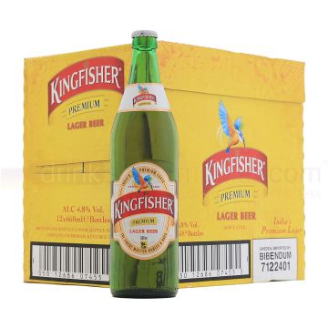Kingfisher Premium Lager Beer 12 x 660ml Whatsapp Chat :-+1 (631) 573-5778