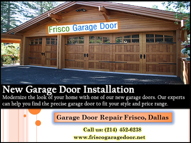 Start $25.95 - Local 1 hrs New Garage Door Installation Service 75034, TX