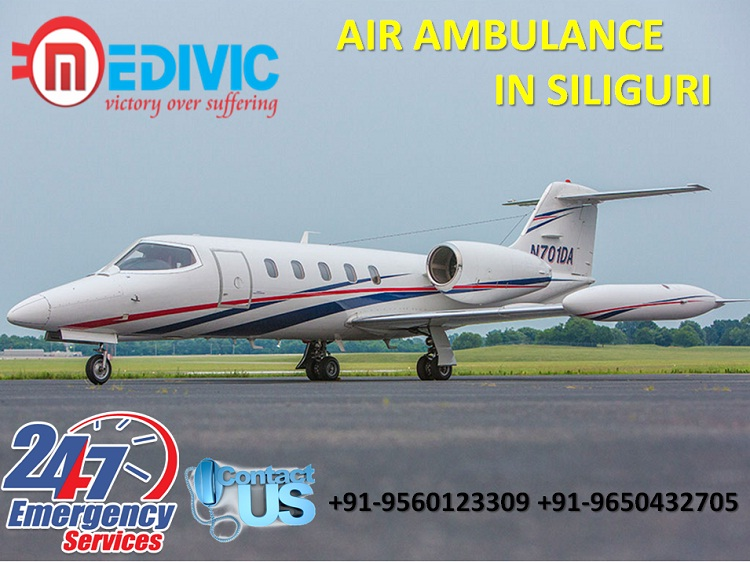 Hired Not Costly Affair Air Ambulance in Siliguri by Medivic