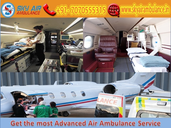 Pick the Most Reliable Air Ambulance Service in Raipur