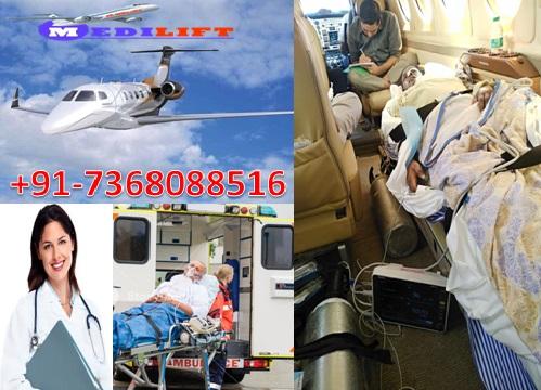 Life-Saving Air Ambulance Service in Raipur with Medical Facility