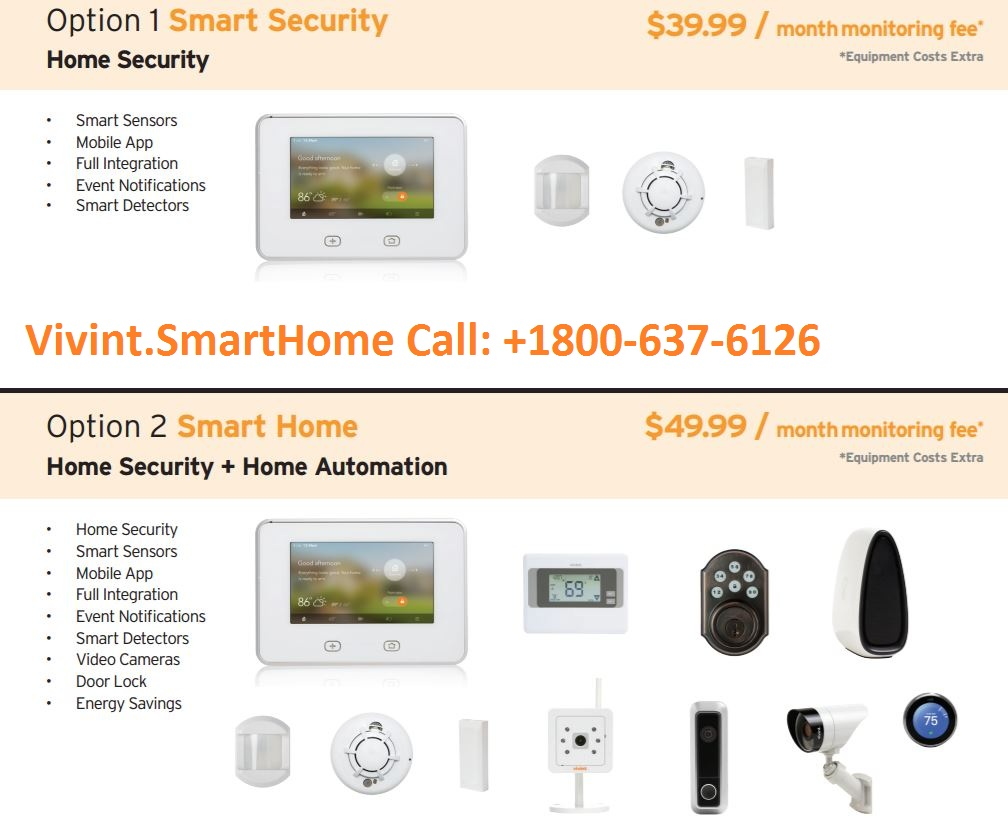 VIVINT HOME SECURITY 1800-637-6126 SECURE YOUR HOME AT LESS THAN $2 PER DAY