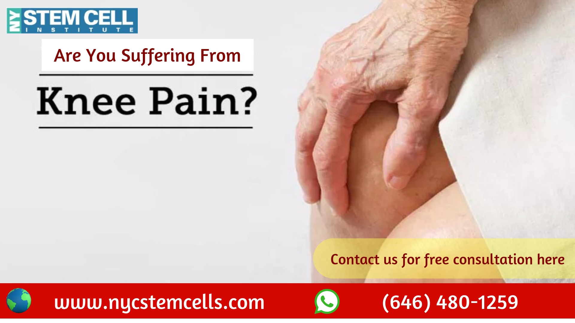 Stem Cell Therapy in NYC - Best Treatment Option for Knee Pain Relief