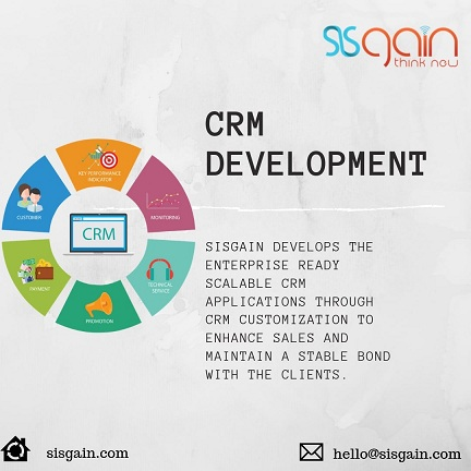 Excellent CRM developers at SISGAIN