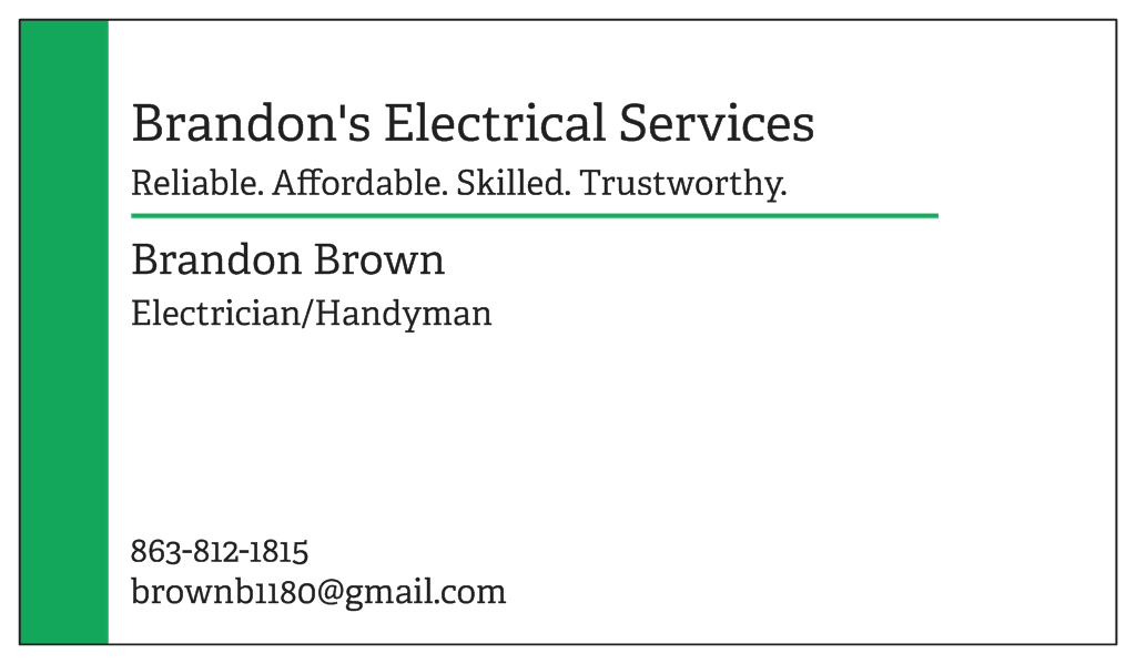 Brandon's Electrical Services
