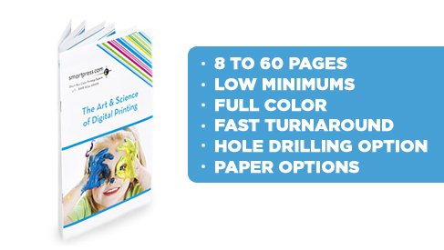 Affordable Booklet Printing Services from PrintPapa