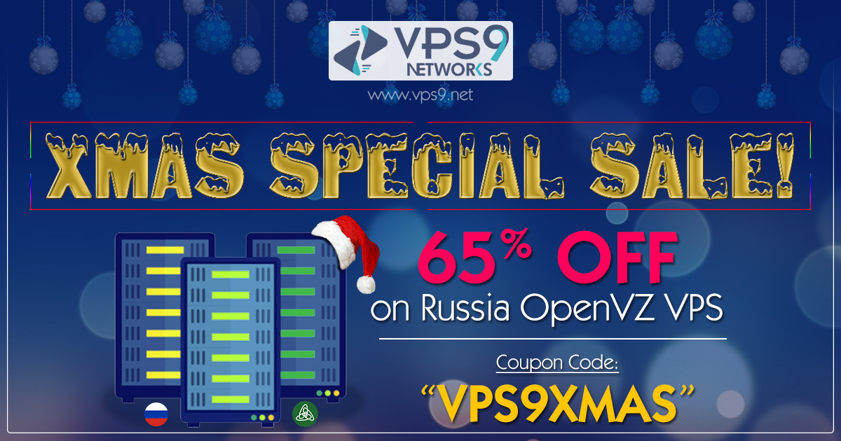 65% Onetime Off on Russia OpenVZ VPS