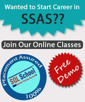 PRACTICAL SSAS 2017 Online Training & JOB SUPPORT