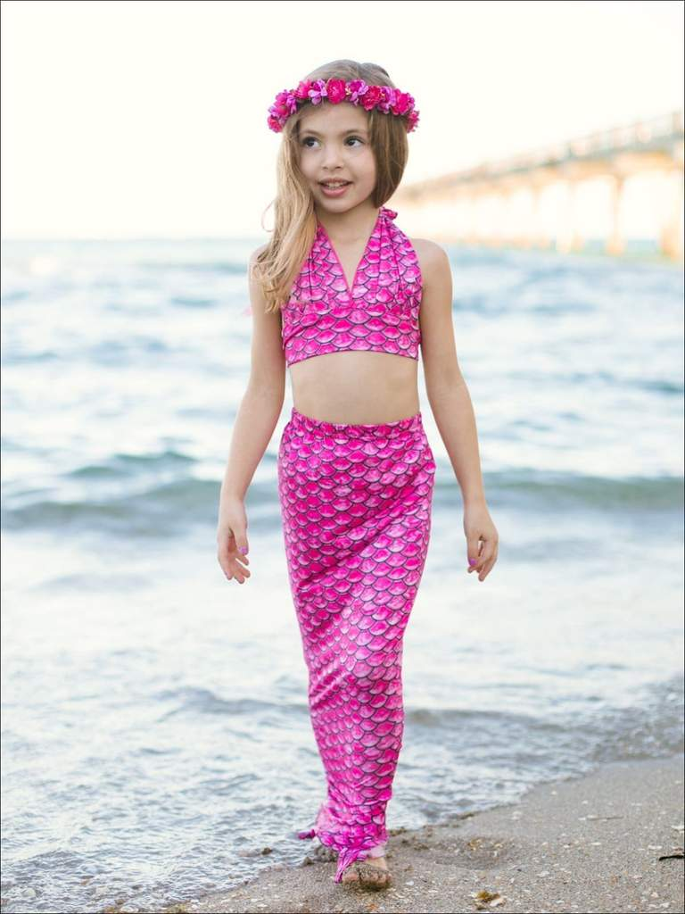 Shop Girls One Piece Swimsuits at Mia Belle Baby