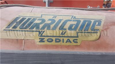 1994 ZODIAC HURRICANE H640D BOAT WITH TRAILER
