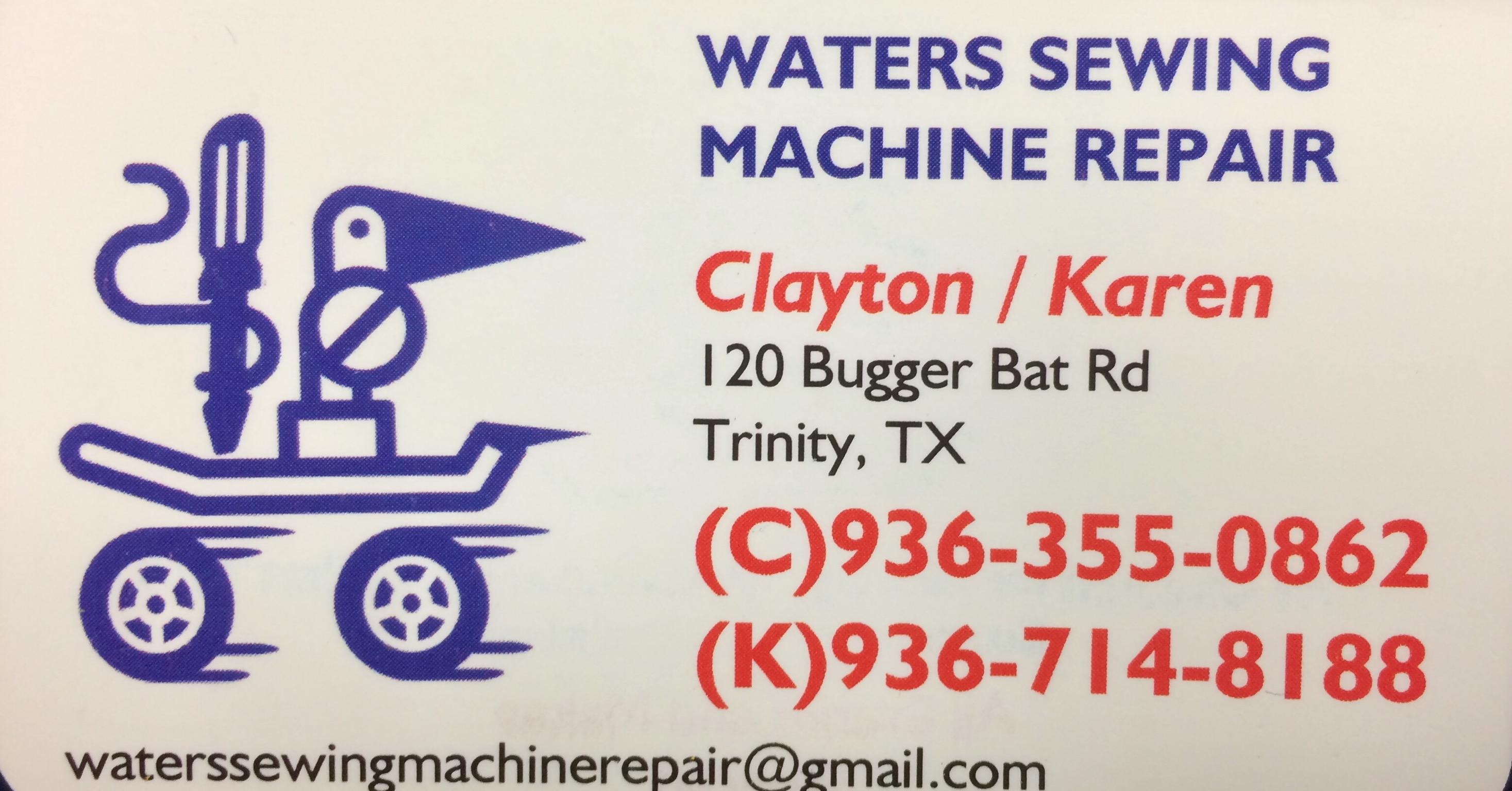 Sewing Machine Repair/Cleaning/Adjustment