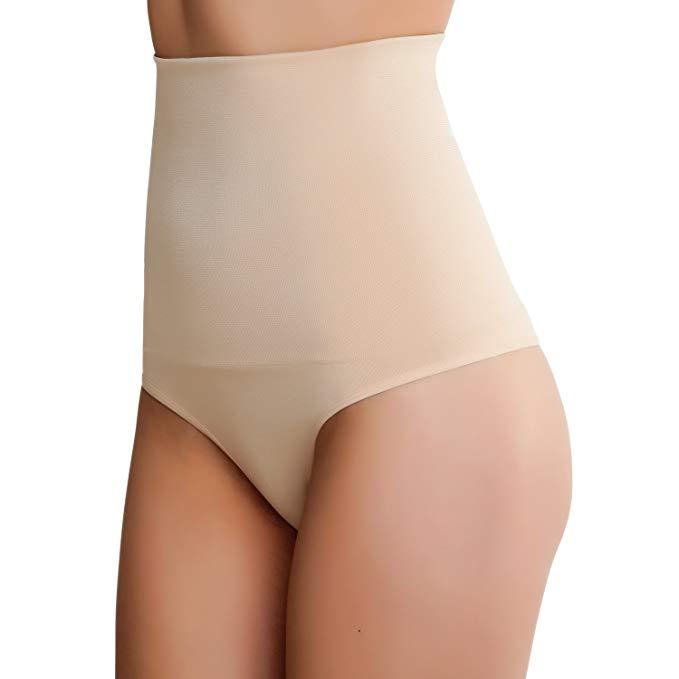 Tummy Control Shapewear Thong at Amazon Save up to 70%