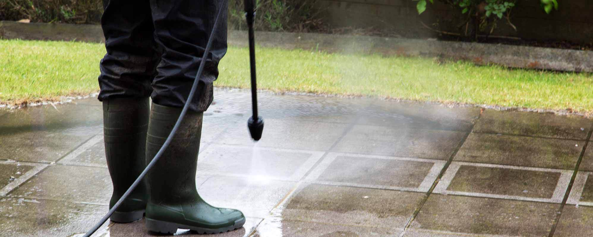 Exterior Cleaning by Bryan