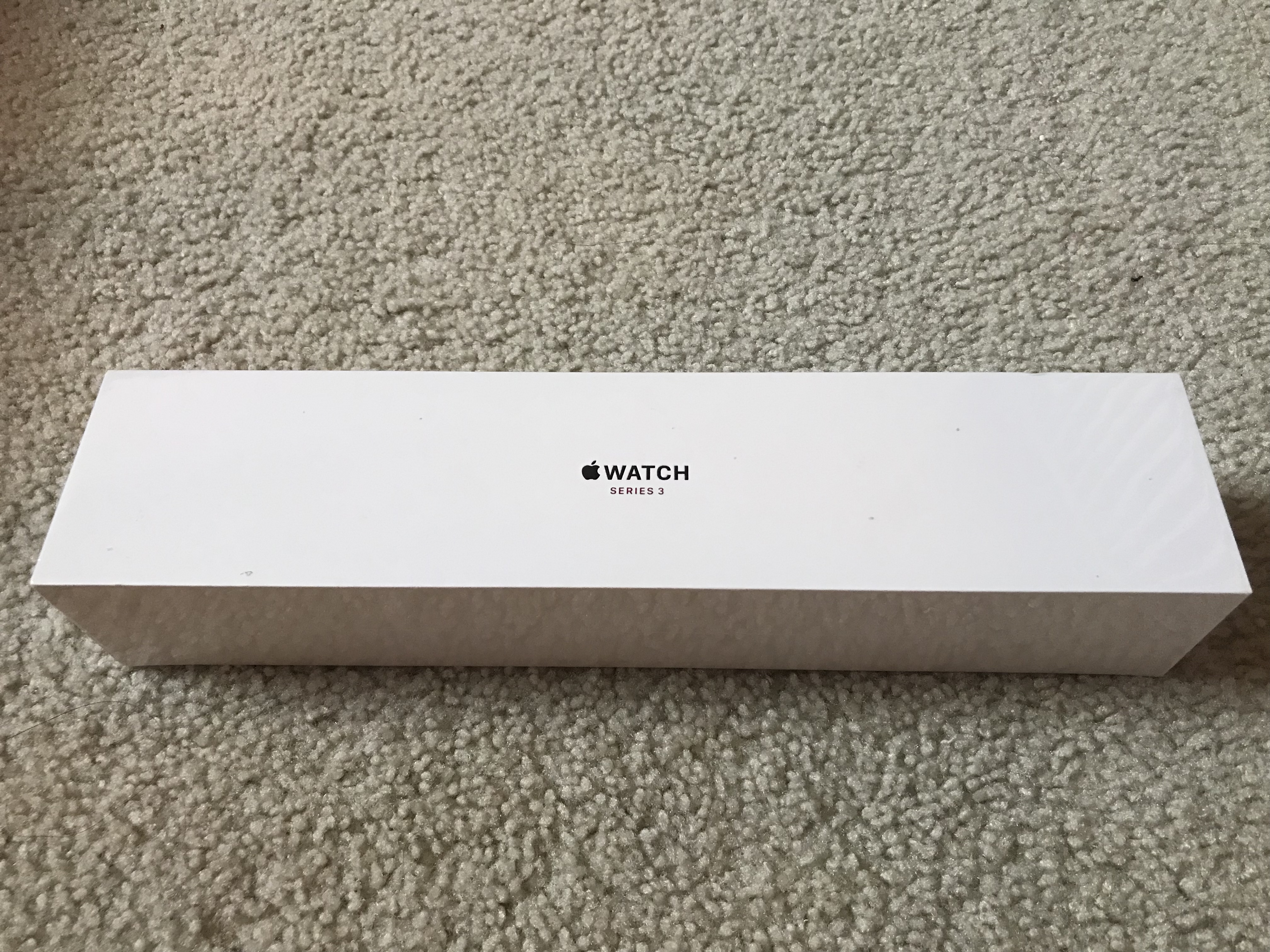 [BRAND NEW] Apple Watch Series 3 38mm Gold Al, Pink Sand Sport Band (GPS+Cellular)