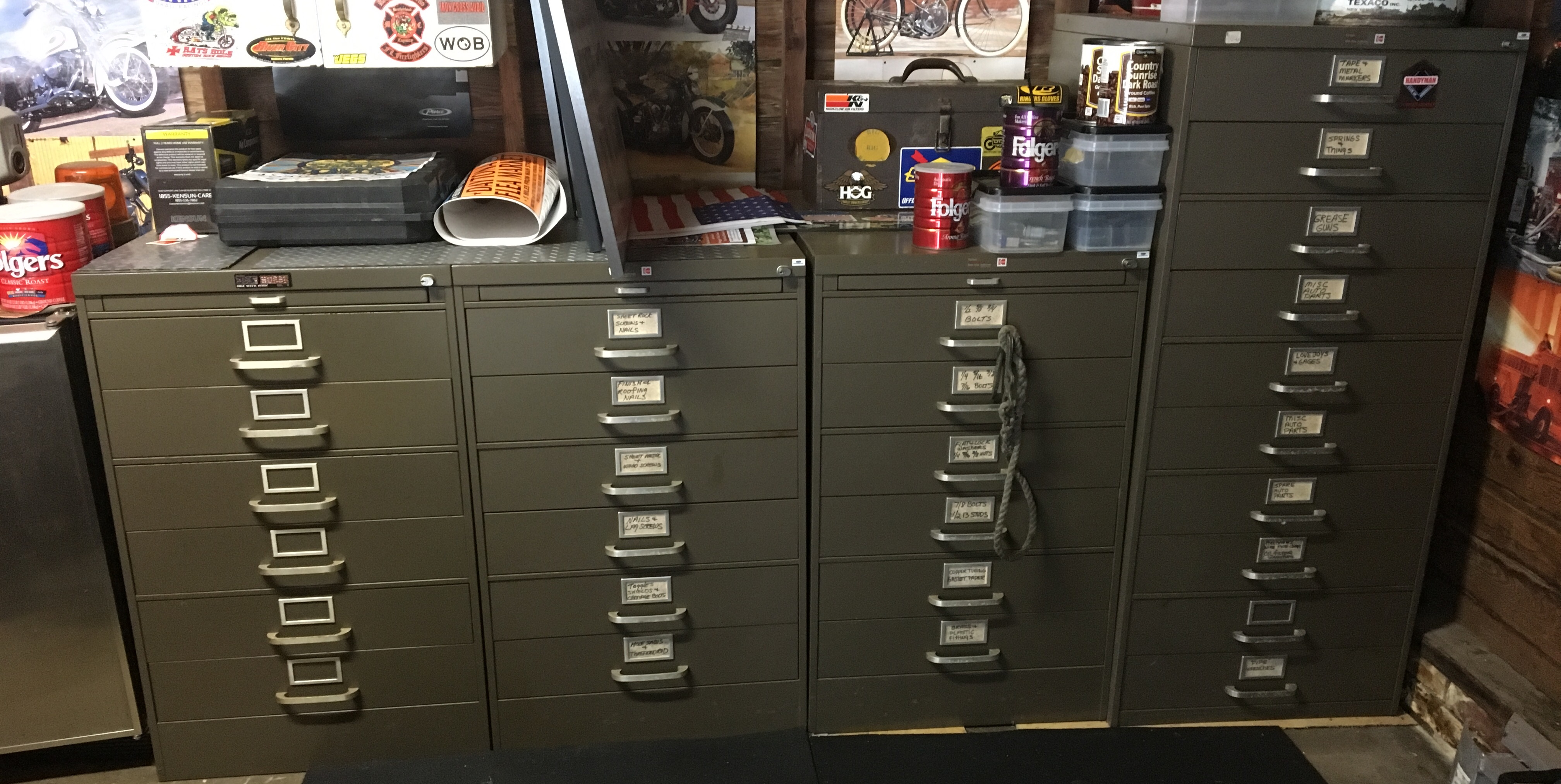 Lista Style Cabinets.