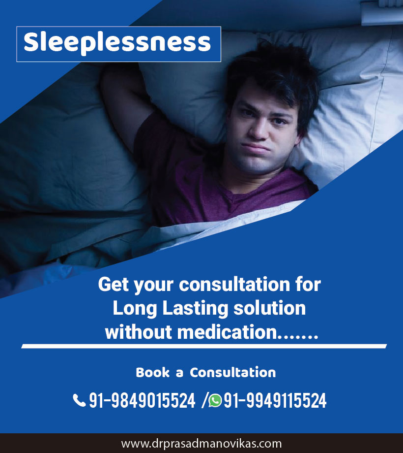 Sleeplessness Center in Hyderabad, Using without Medications