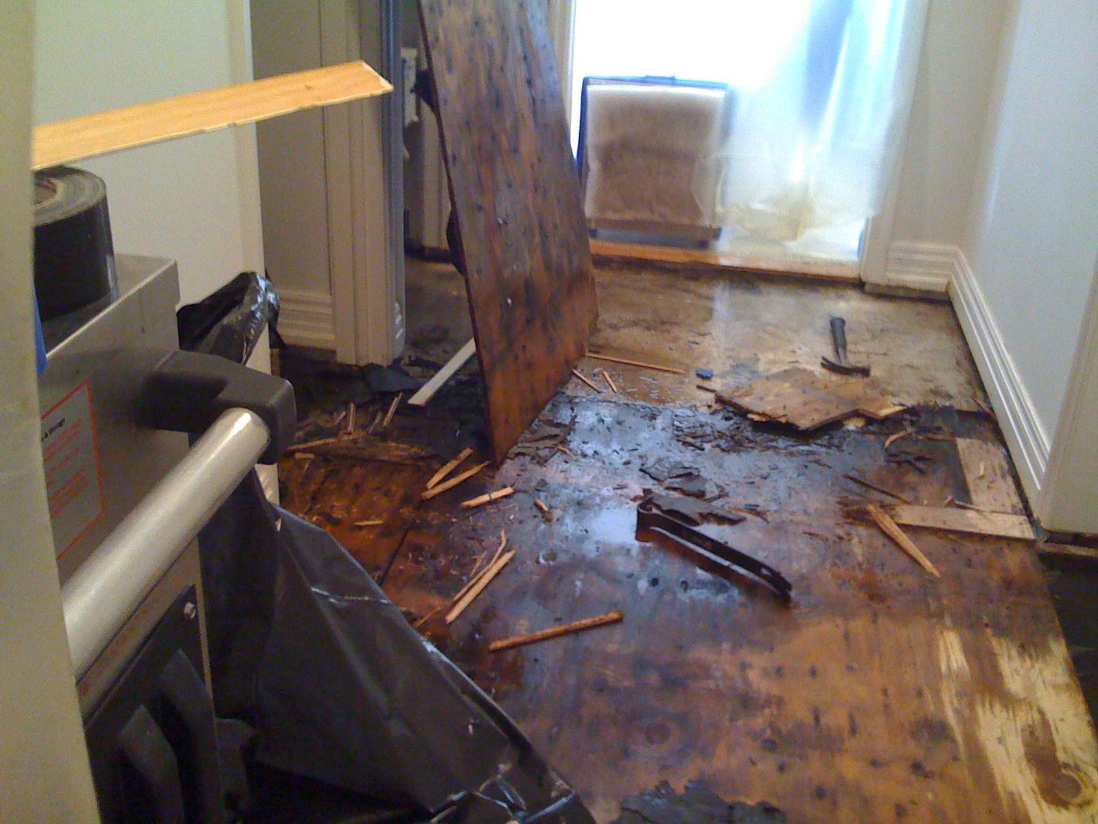 Water Damage Fast Service