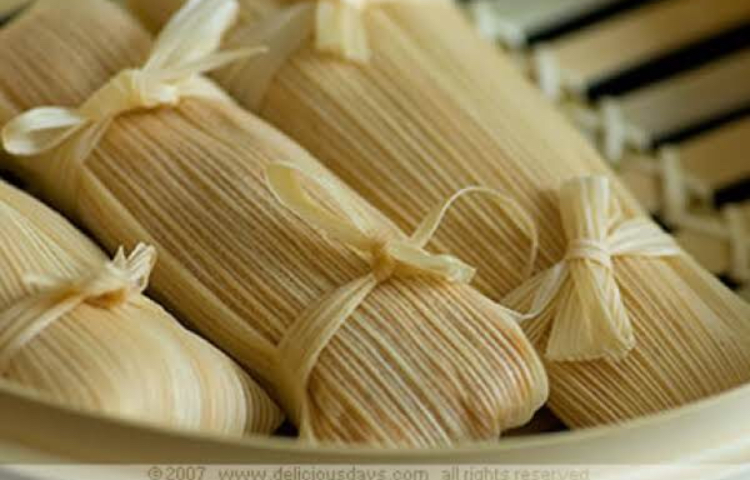 Homemade tamales and more