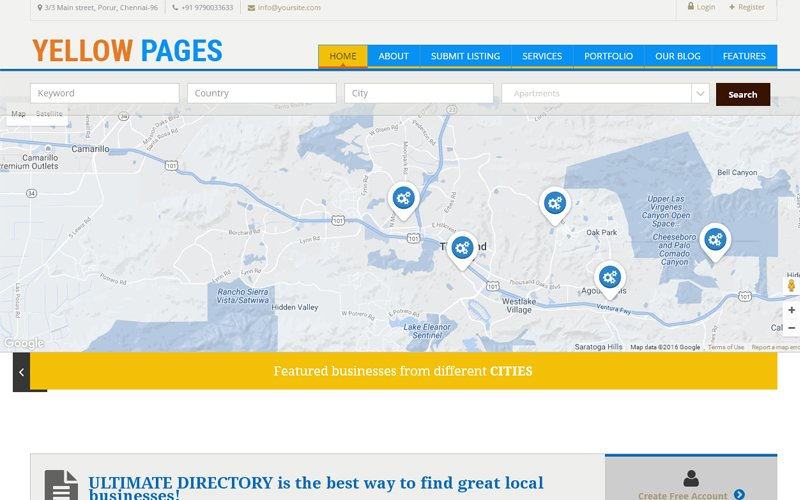 PHP Directory Script | Business Directory Script