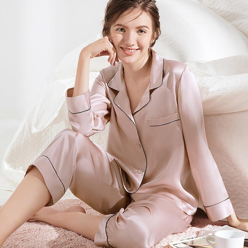 Luxurious Silk Sleepwear