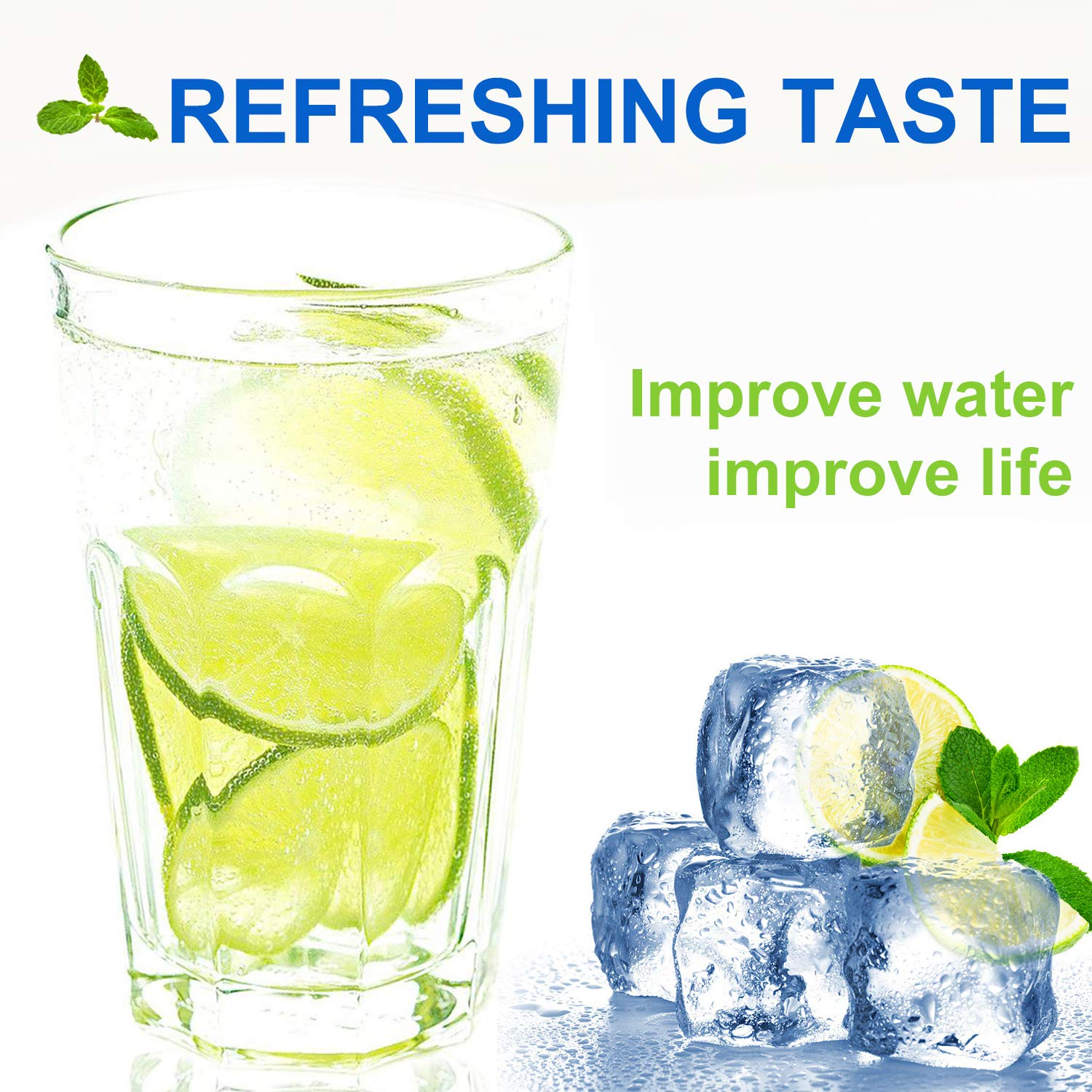 Aqualink LT800P Refrigerator Water Filter Replacement Compatible