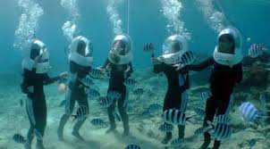 Sea Walking Activity in Andaman