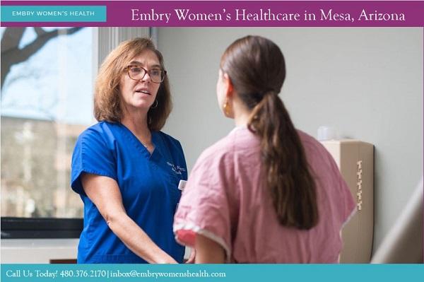 Embry Women's Health OB-GYNs located in Mesa, Chandler, AZ