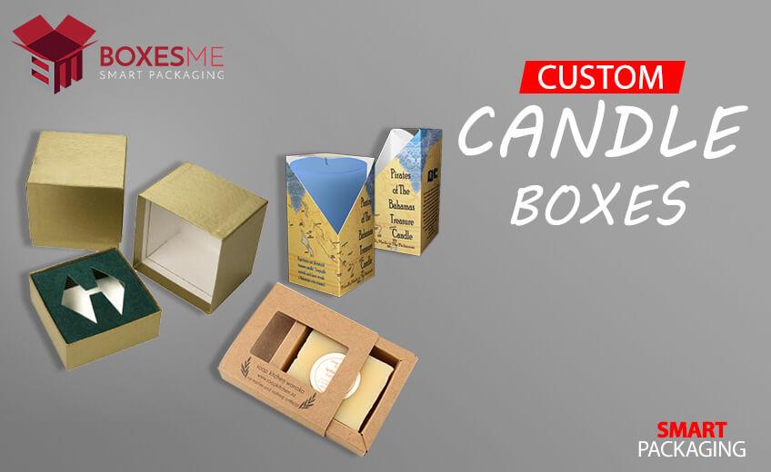 Unique Idea's of Printed Custom Candle Boxes Wholesale