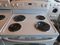 GE 30 INCH FREE STANDING ELECTRIC RANGE SELF CLEAN COIL BURNERS