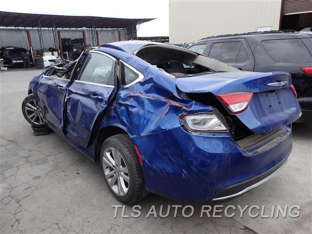 Used Parts for Chrysler 200 - 2015 - 901.CH1L15 - Stock# 7501BR