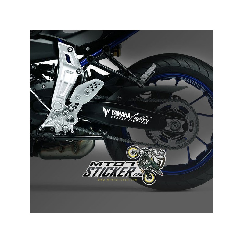 MT-07 Euro Street Fighter swingarm sticker (16)
