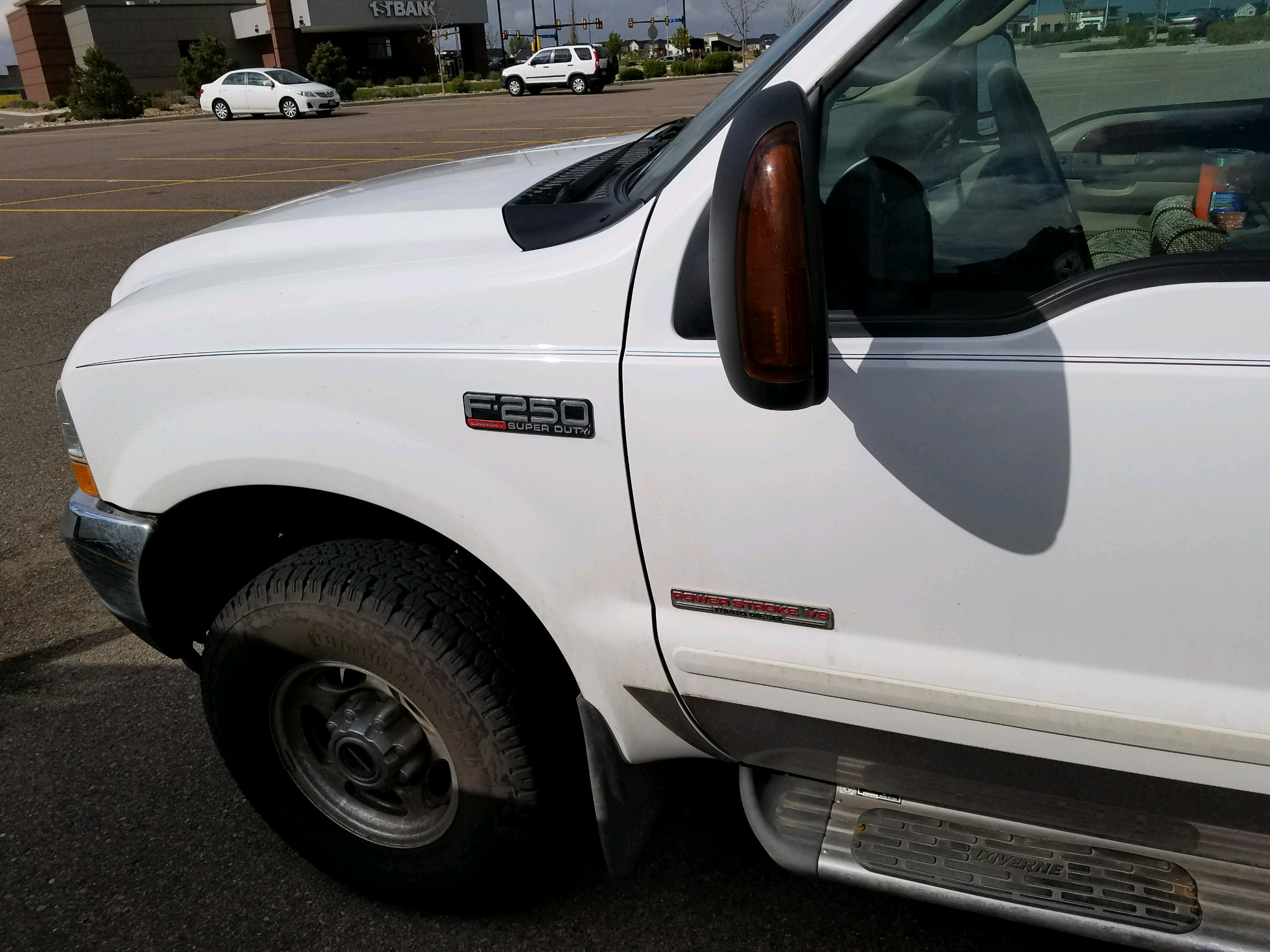 2004 Ford F250 Lariat Crew Cab 4 X 4 Pickup for sale