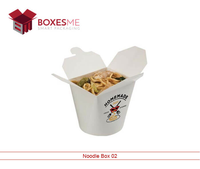 We provide High-Quality Noodle Box Packaging