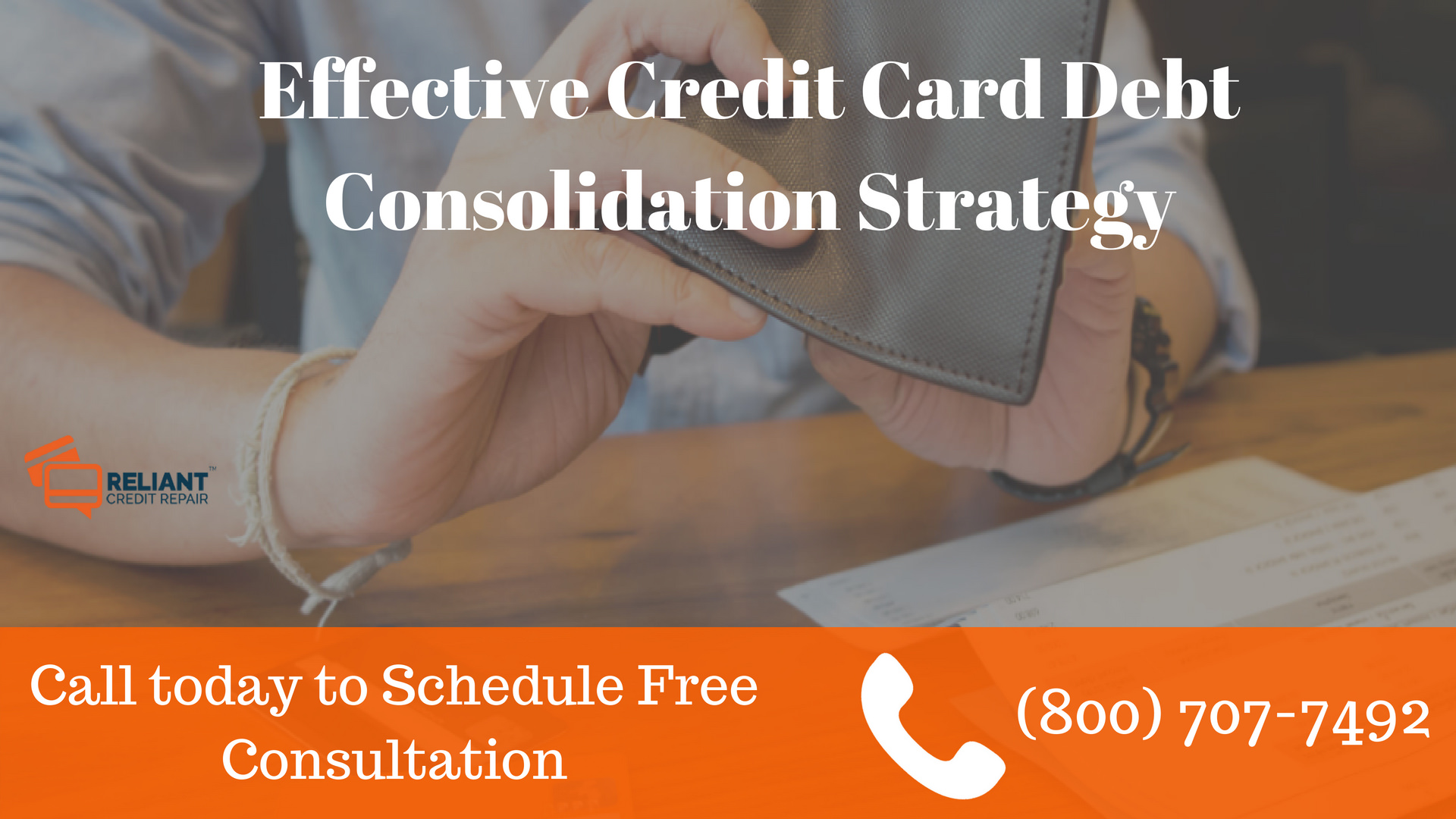 Effective Credit Card Debt Consolidation Strategy