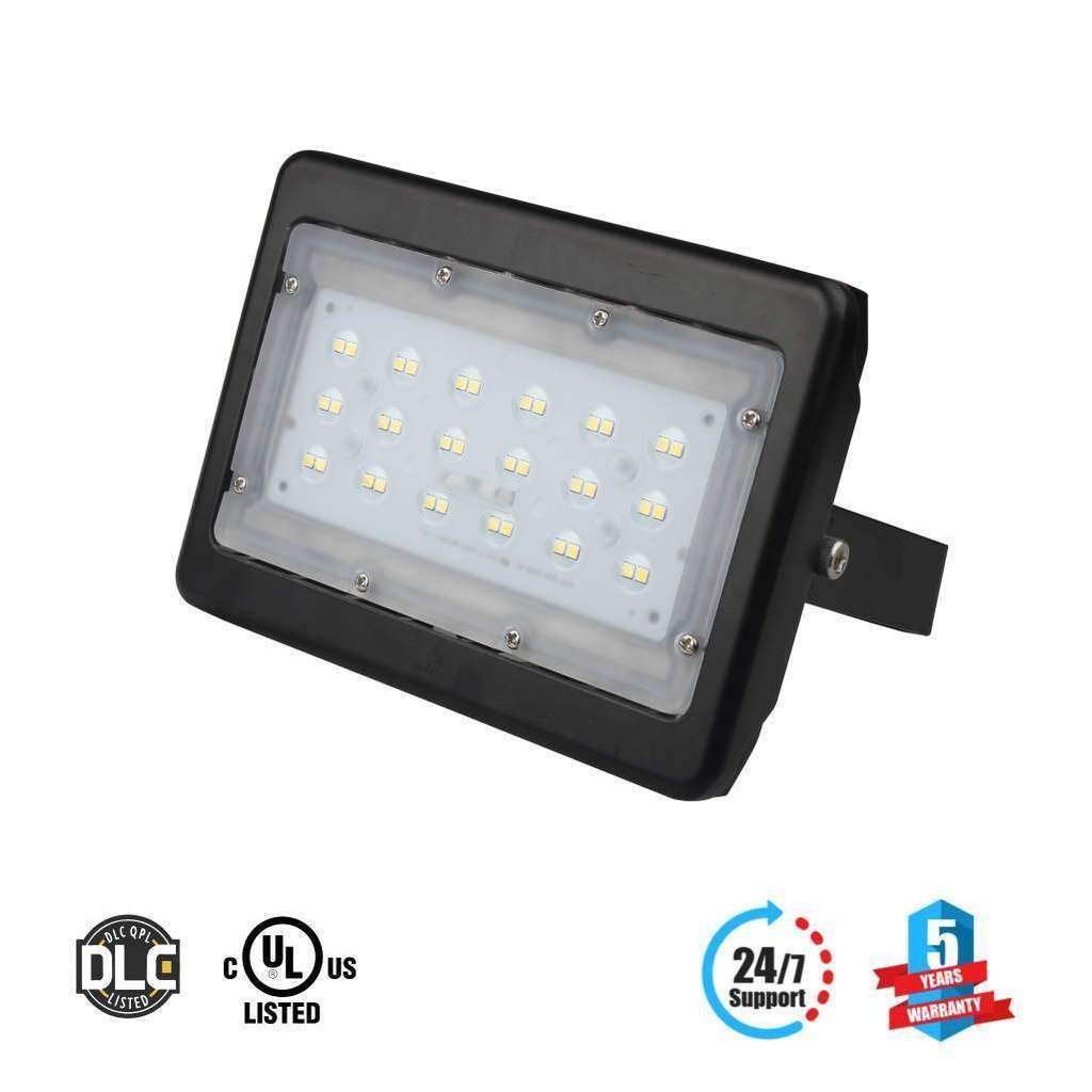 Buy the Outdoor LED Flood Light 30 Watt 5700K Black Finish -