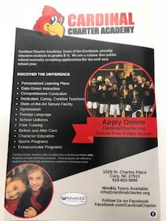 Cardinal Charter Academy - Enroll Now!