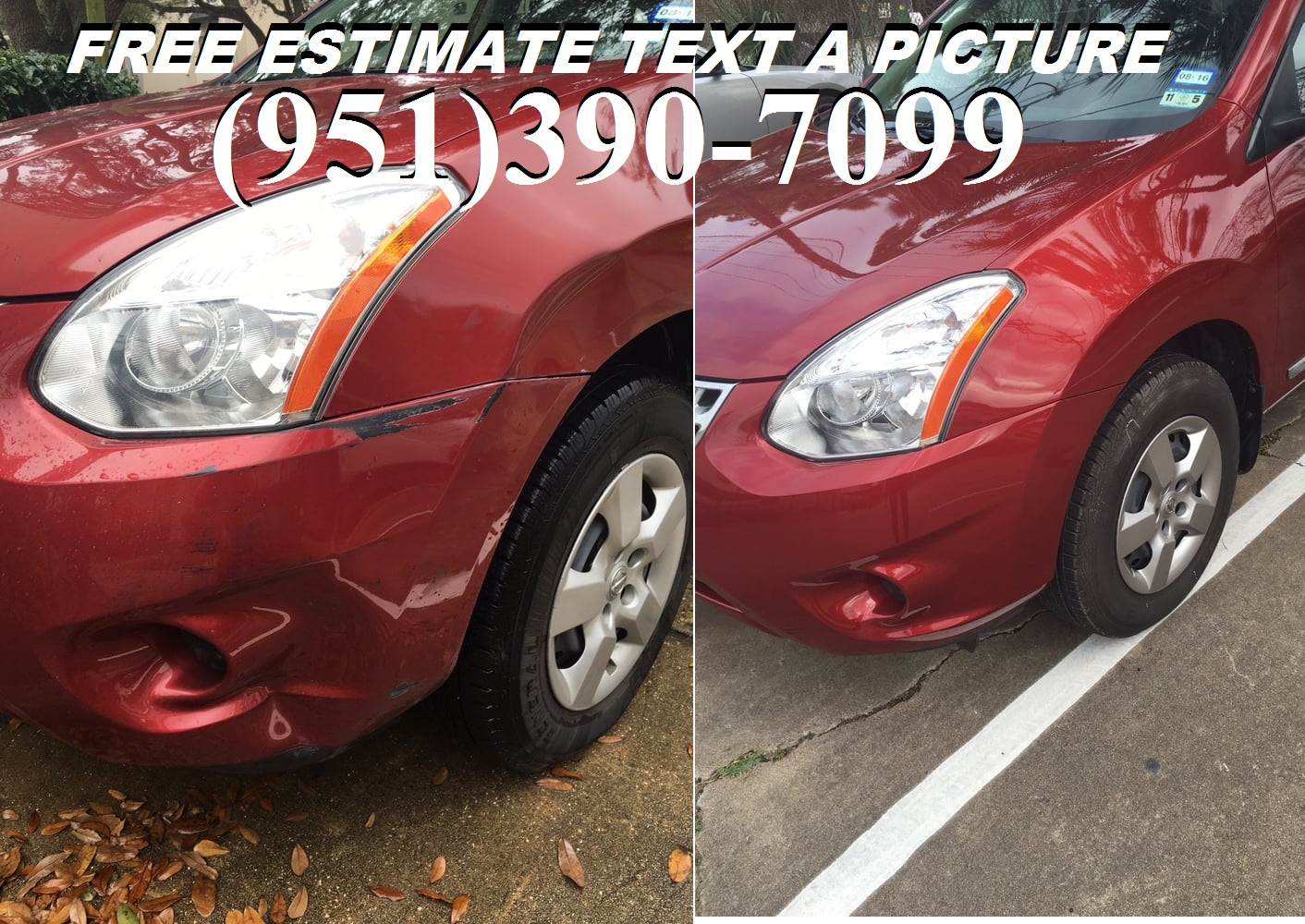 CAR DENTS REPAIRS MOBILE AFFORDABLE REPAIRS FREE  ESTIMATE