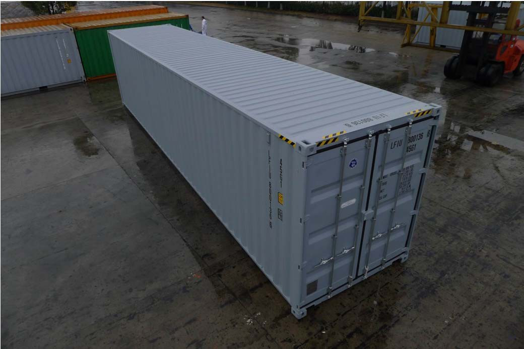 New 40ft 'One Trip' High Cube Shipping Containers are available