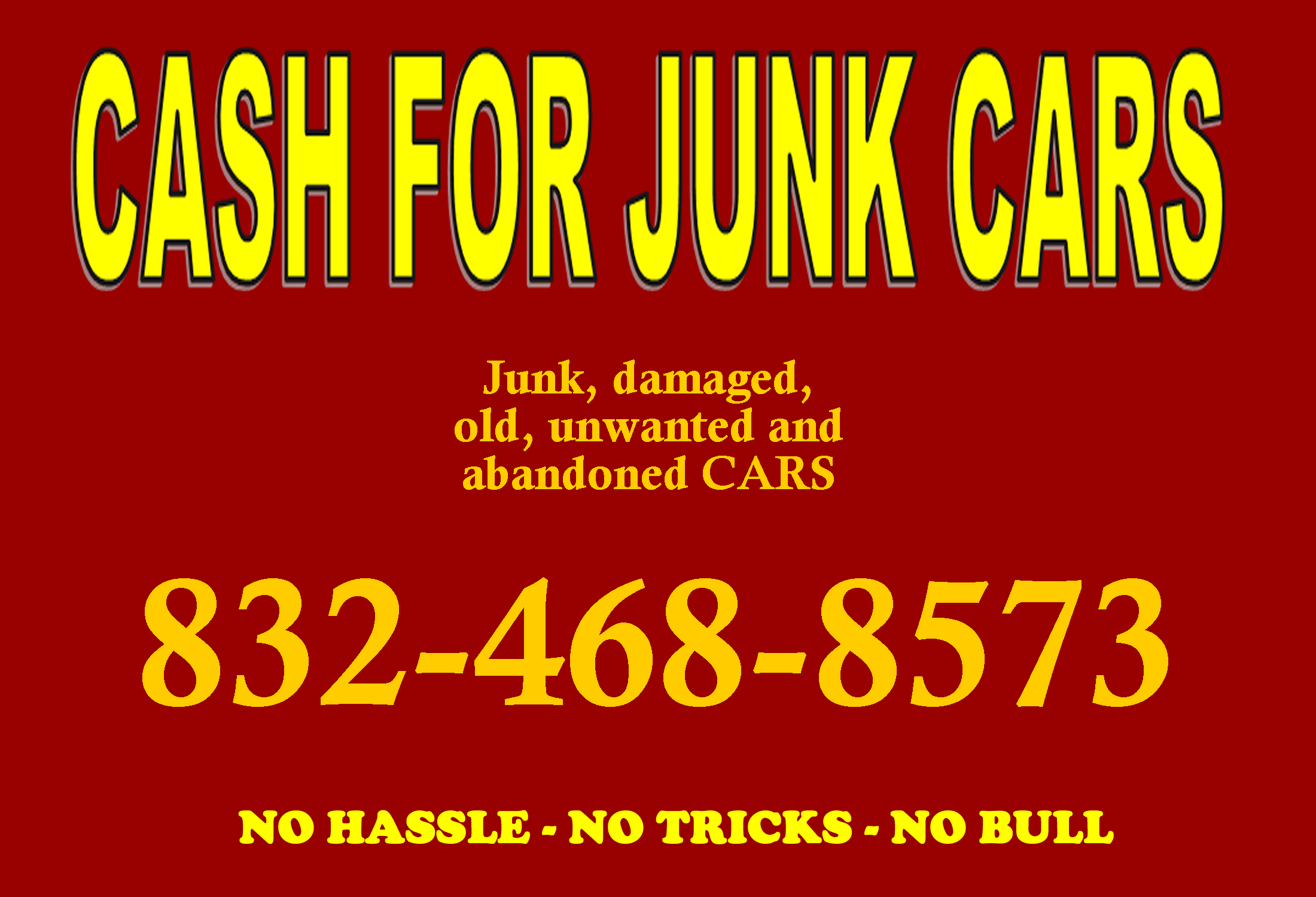 Get money for your Junk Car